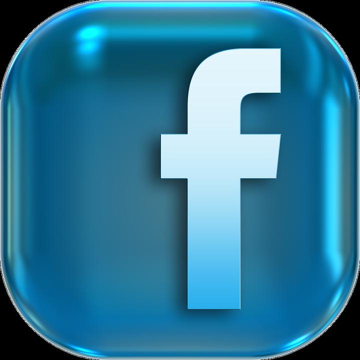3d facebook logo png icon
