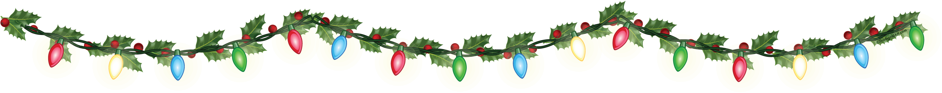 christmas lights free download png