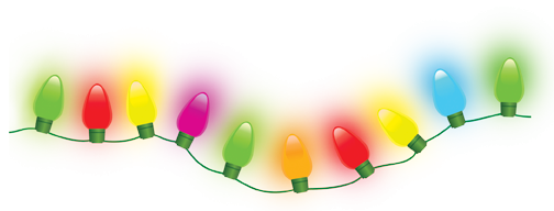 christmas lights high quality png