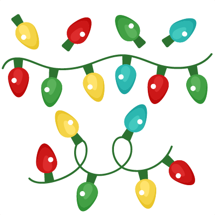 Christmas Lights Cartoon.Cartoon Christmas Lights Png Clip Art
