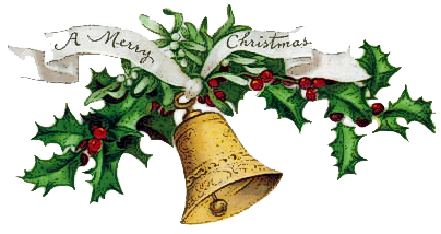 christmas bell png clipart