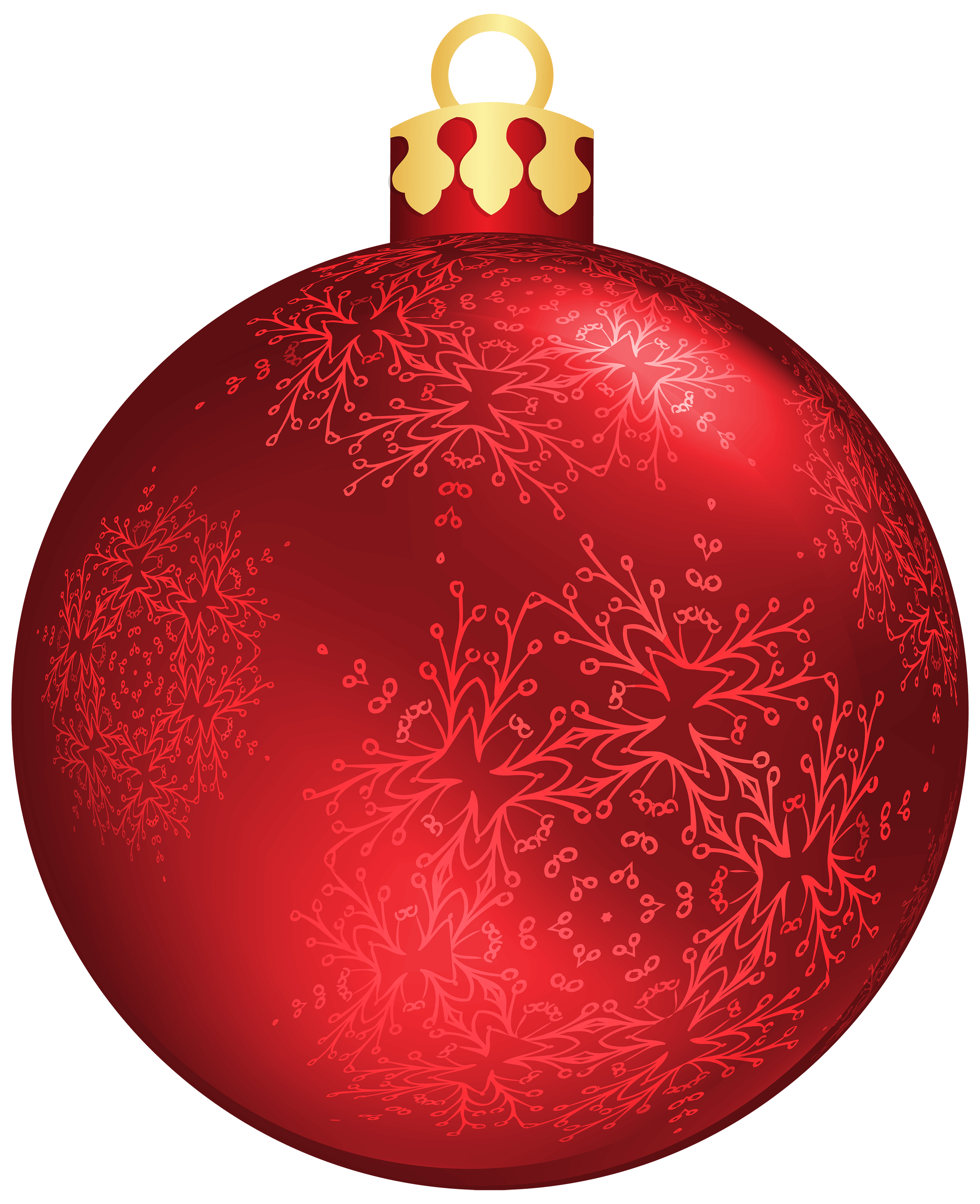 Red Christmas Ball Png Clip art