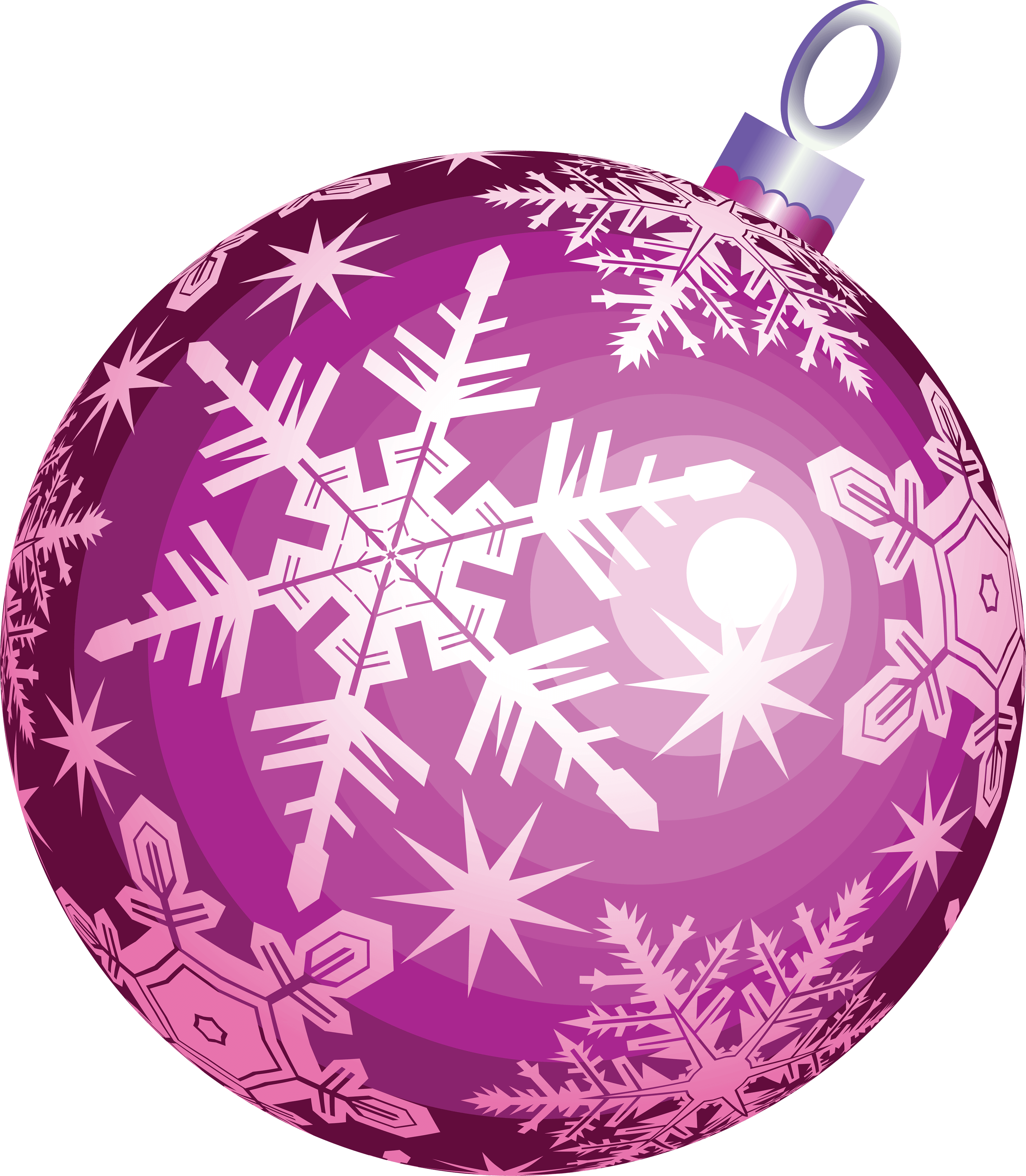 purple hd christmas ball toy png image