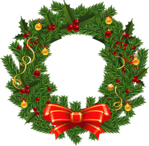 christmas wreath png image