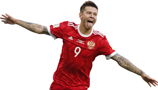 Fedor Smolov Russie 2017 Png