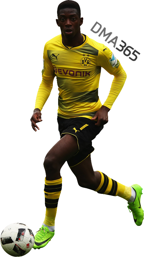 ousmane dembele by dma365 Png