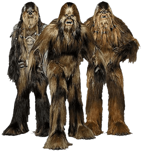 Chewbacca Star Wars transparent PNG