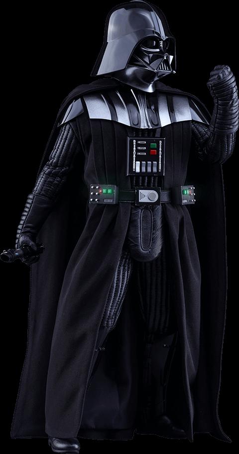 Darth Vader Side View Transparent PNG