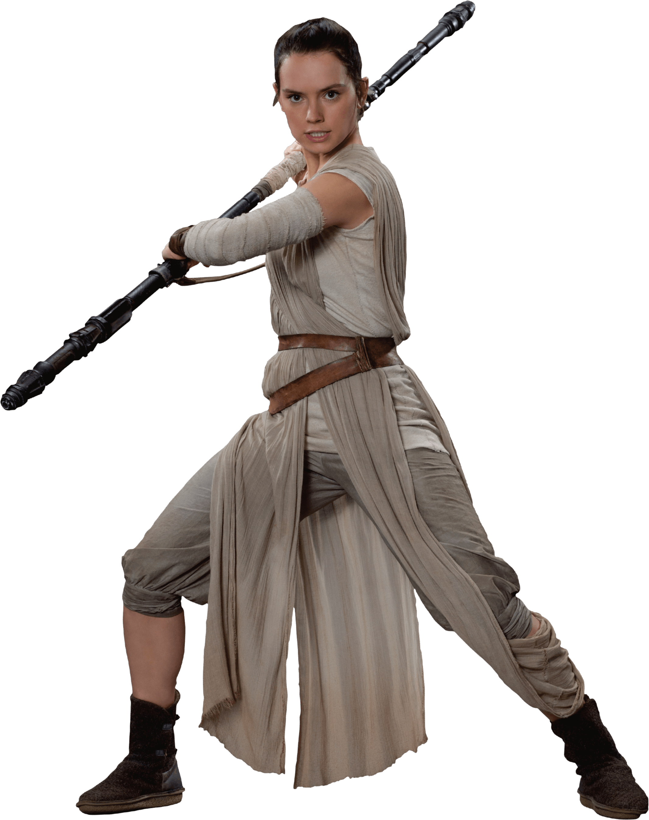 Rey Skywalker Star Wars PNG