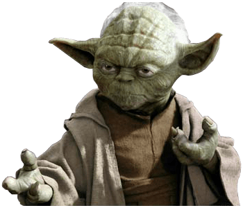 Yoda Ready To Fight Star Wars transparent PNG