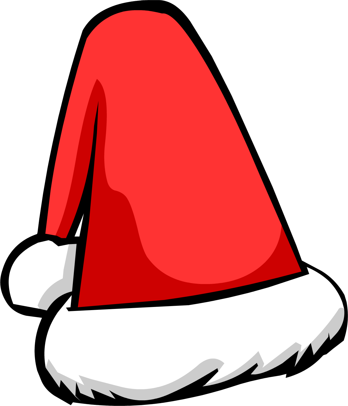 Santa Hat png cartoon kid