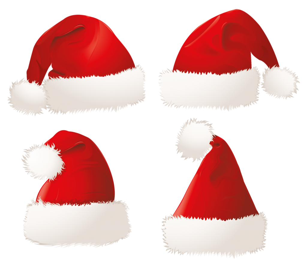 Xmas Santa Claus Hat Png Transparent Background