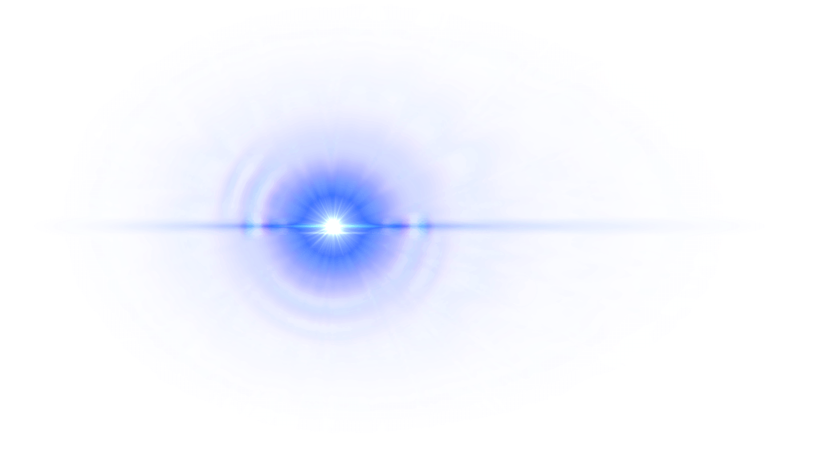 Purple Blue Lens Flare Hd Transparent
