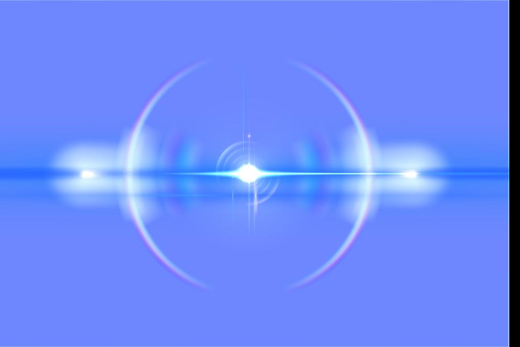 Blue Lens Flare Png