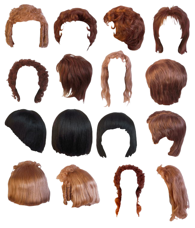 Hairstyles Png Collection