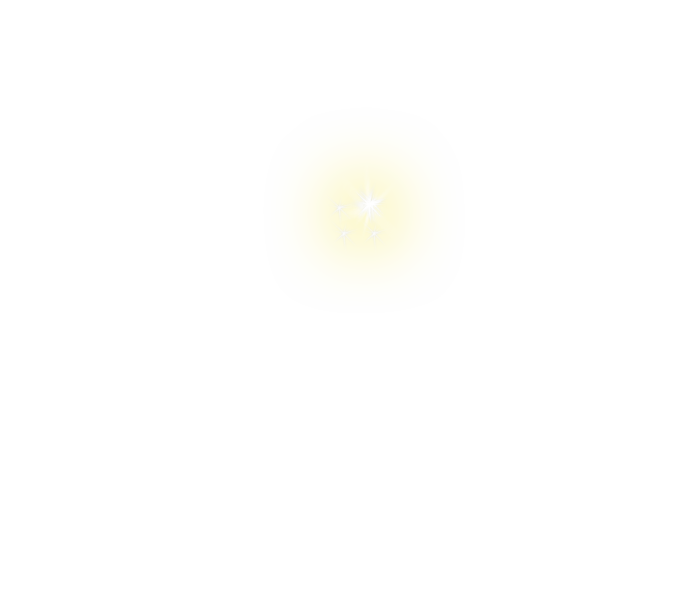 sparkle png yellow