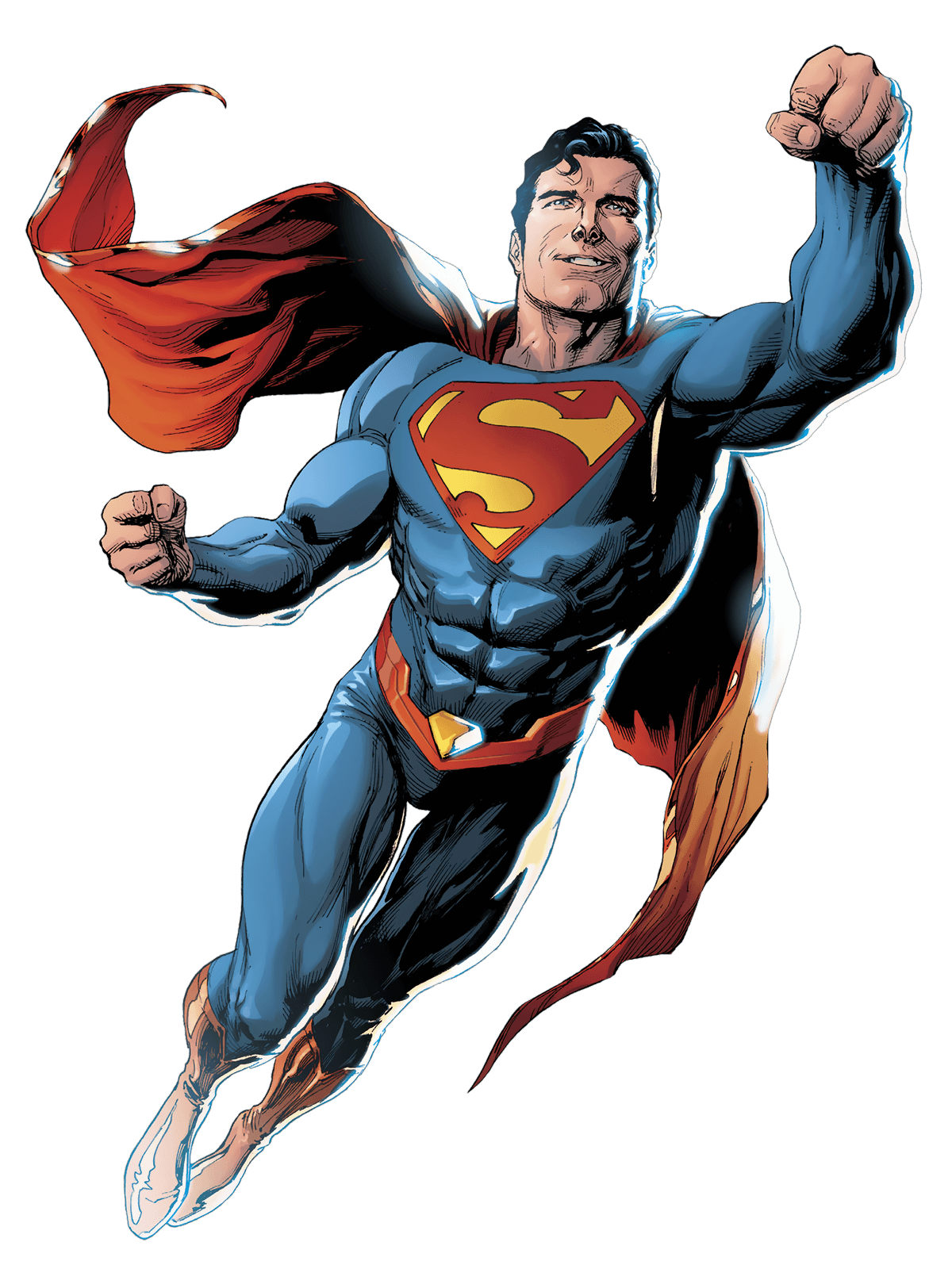Superman cartoon png classic