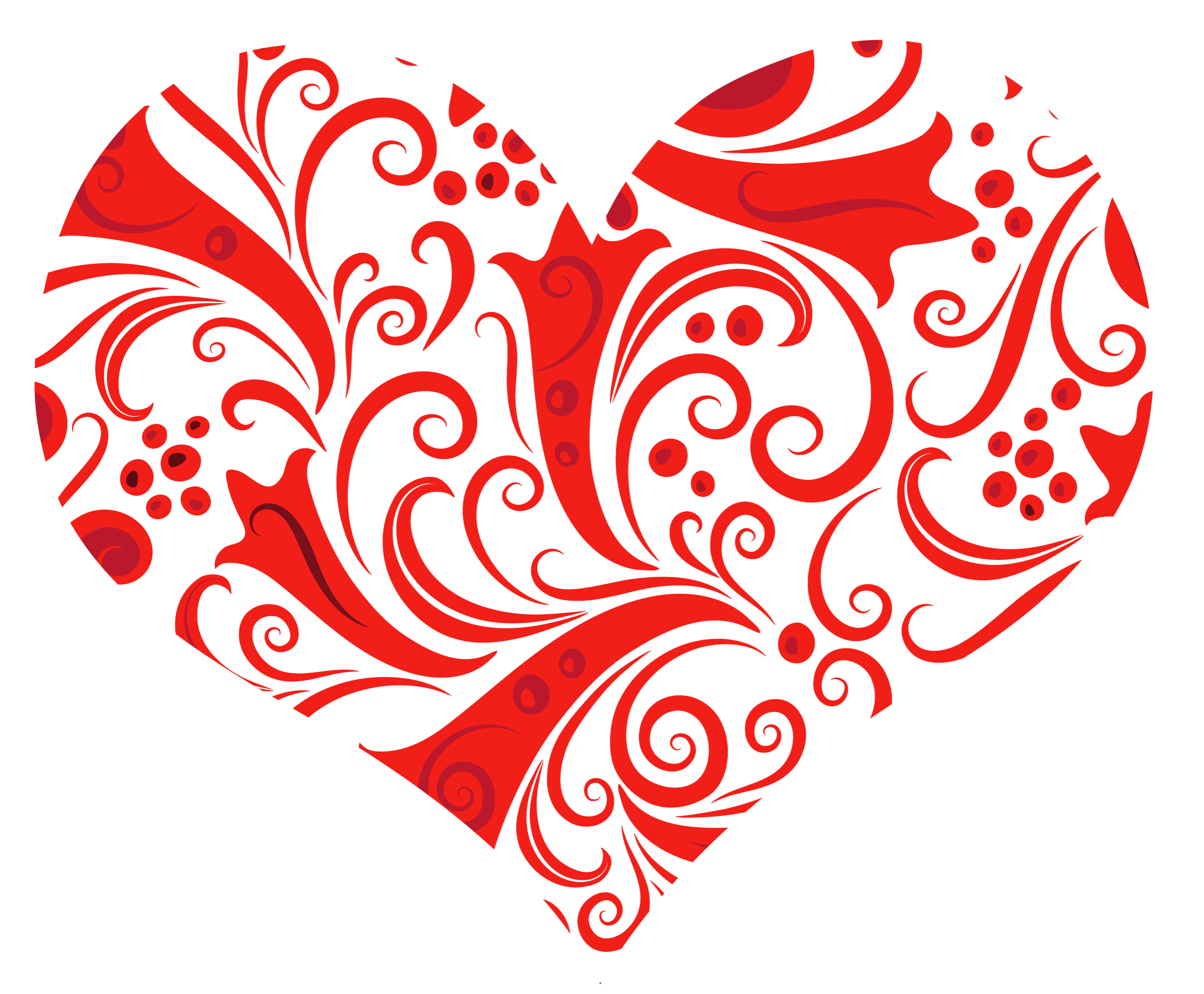 Transparent Heart Ornament Png
