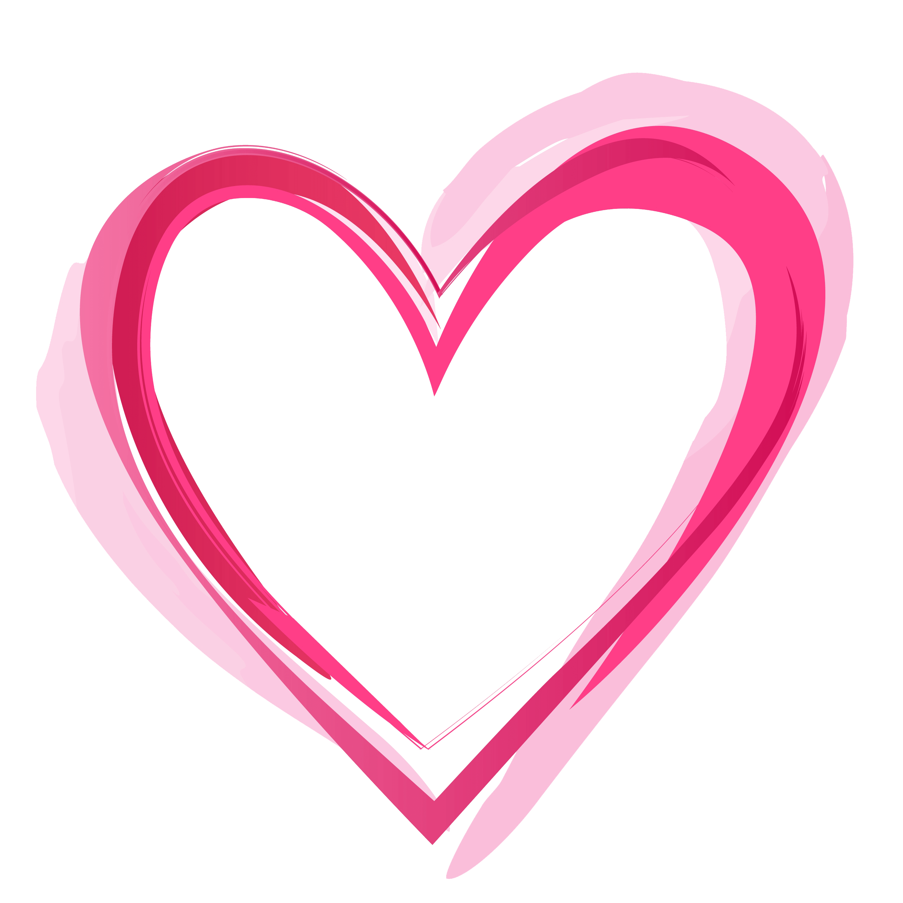 Pink Heart PNG Pic