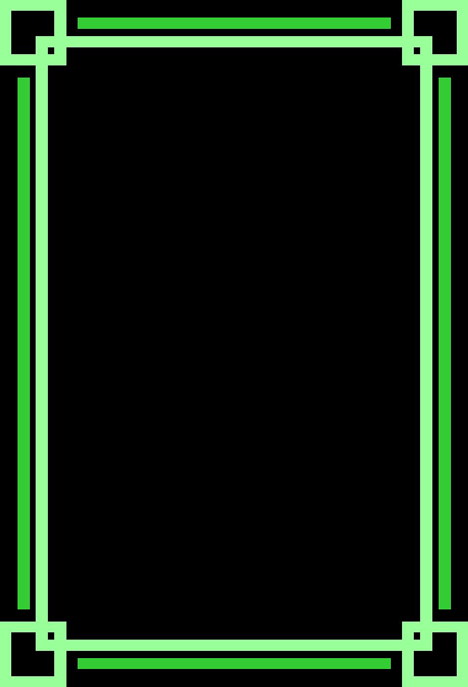 Border Green Free Stock Photo Illustration Of A Blank Green Frame ...
