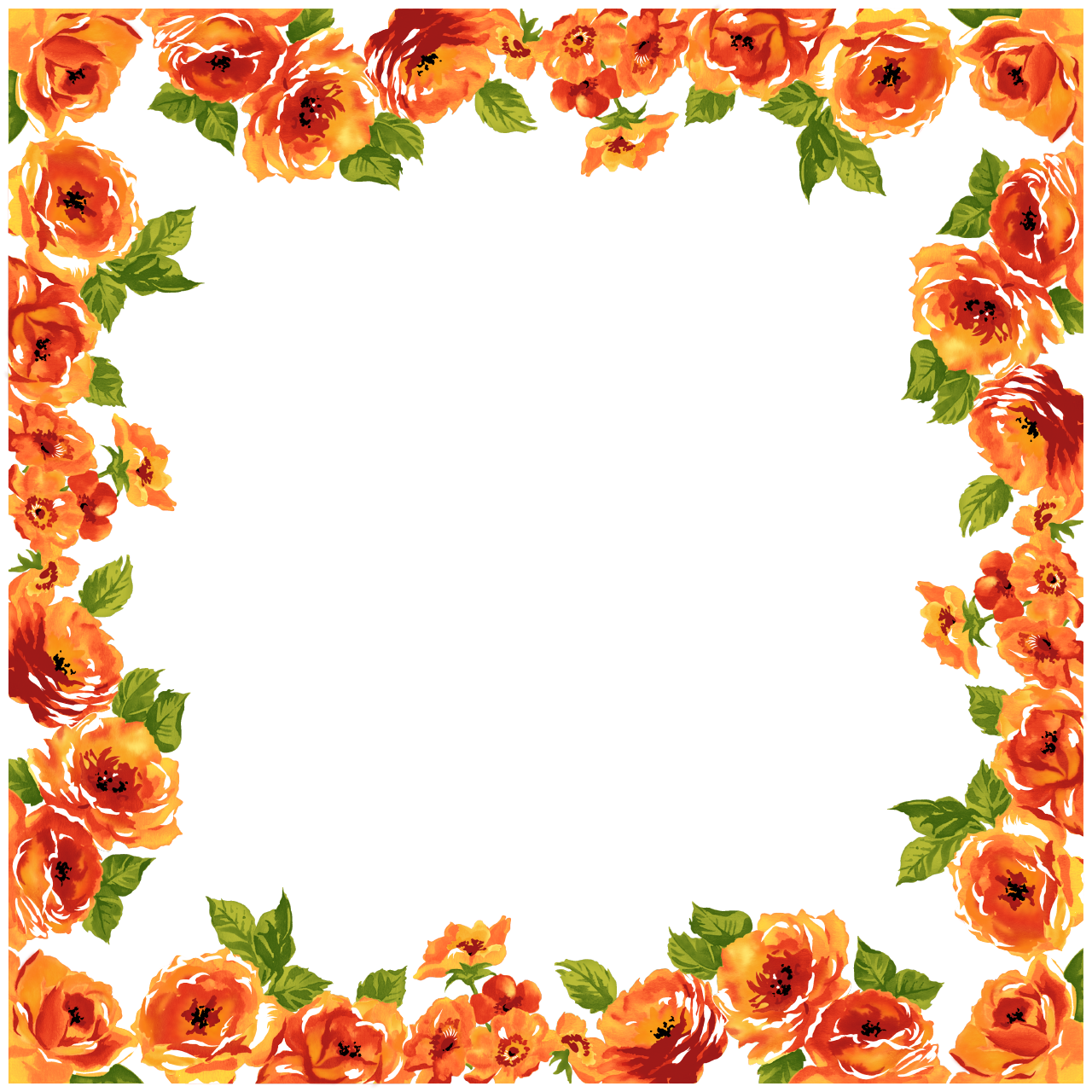 fancy wedding border transparent