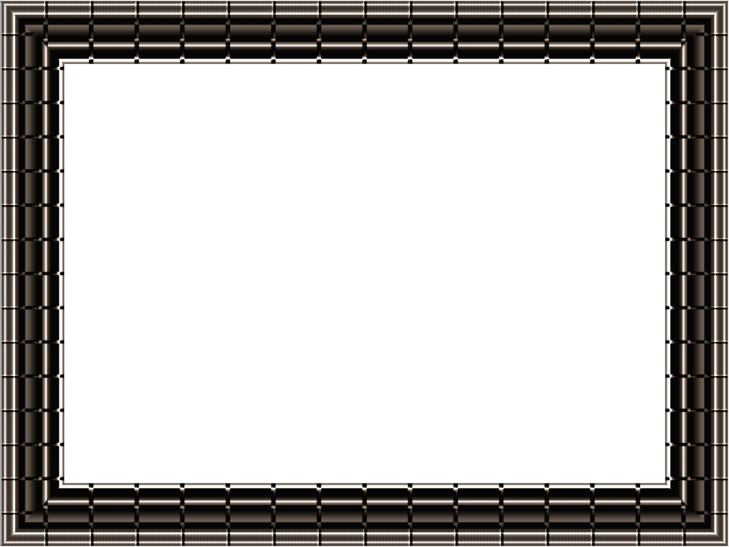 chocolate brown black frame png
