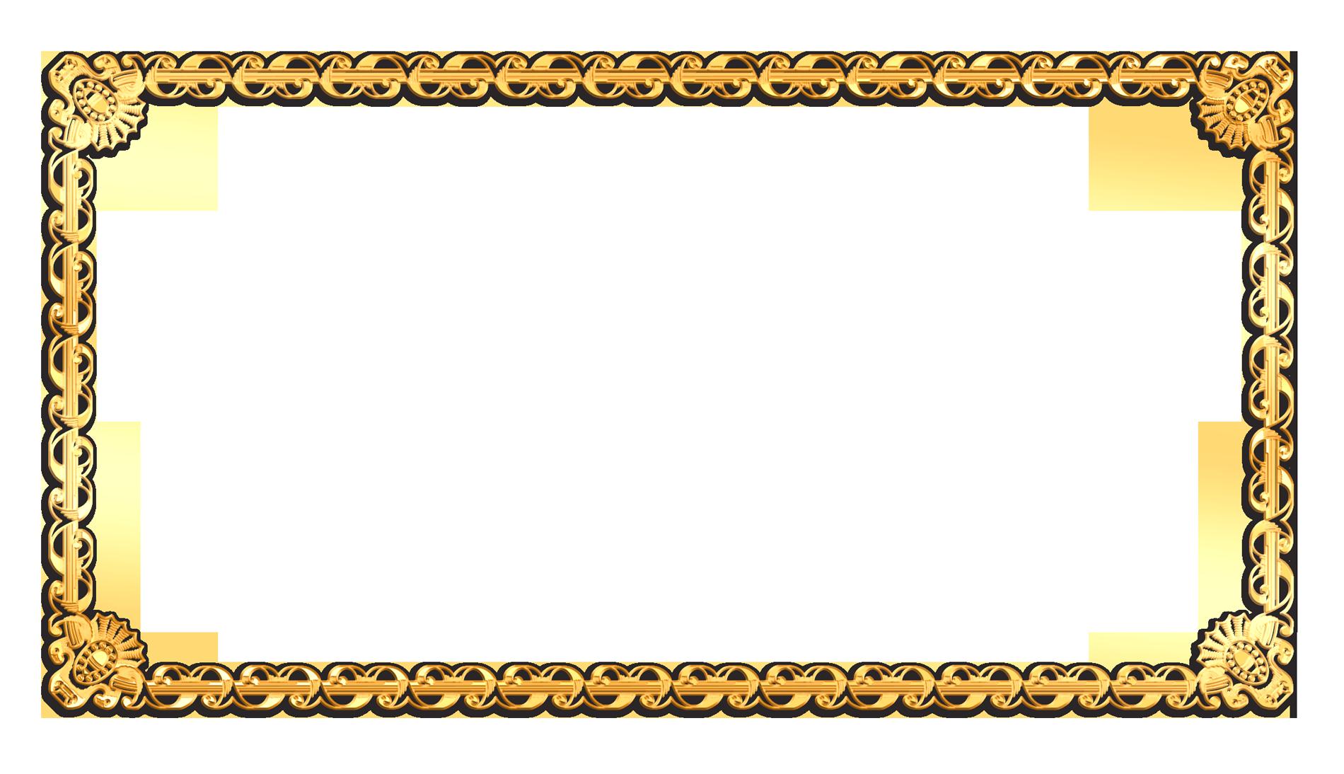 rectangular photo frame png transparent image