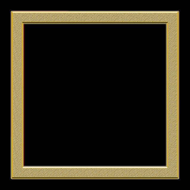Frame Gold Png Transparent