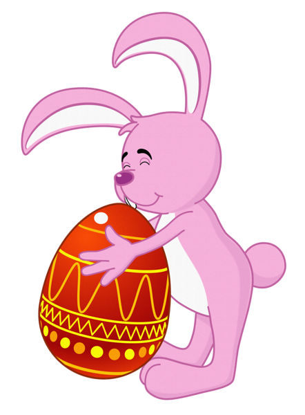 Easter Bunny Transparent PNG Clipart