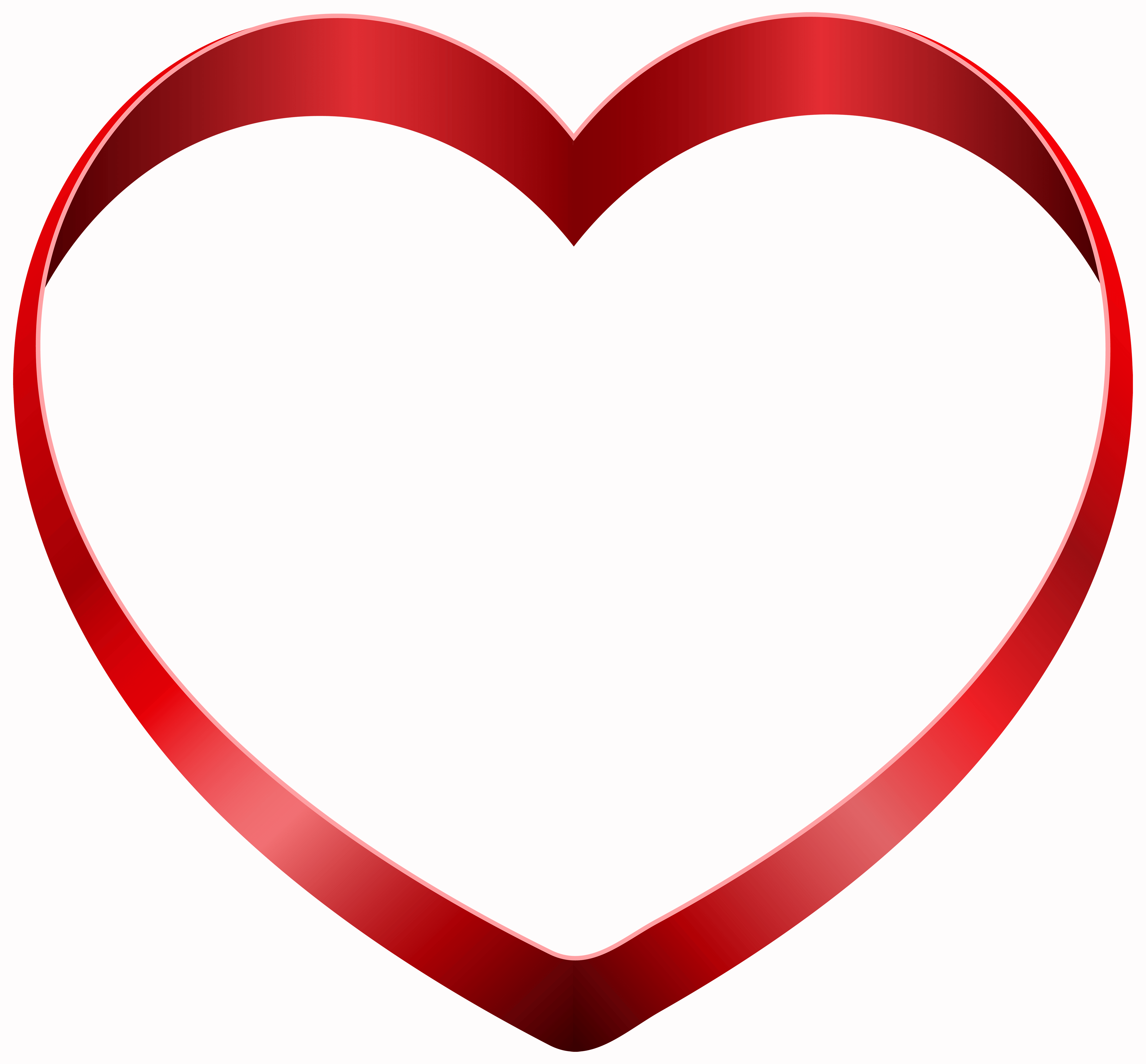 Transparent Heart PNG Clipart