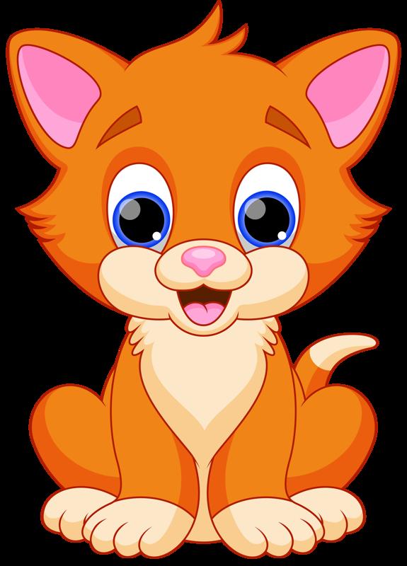 Cat Png Cartoon Kitty Cut Clipart