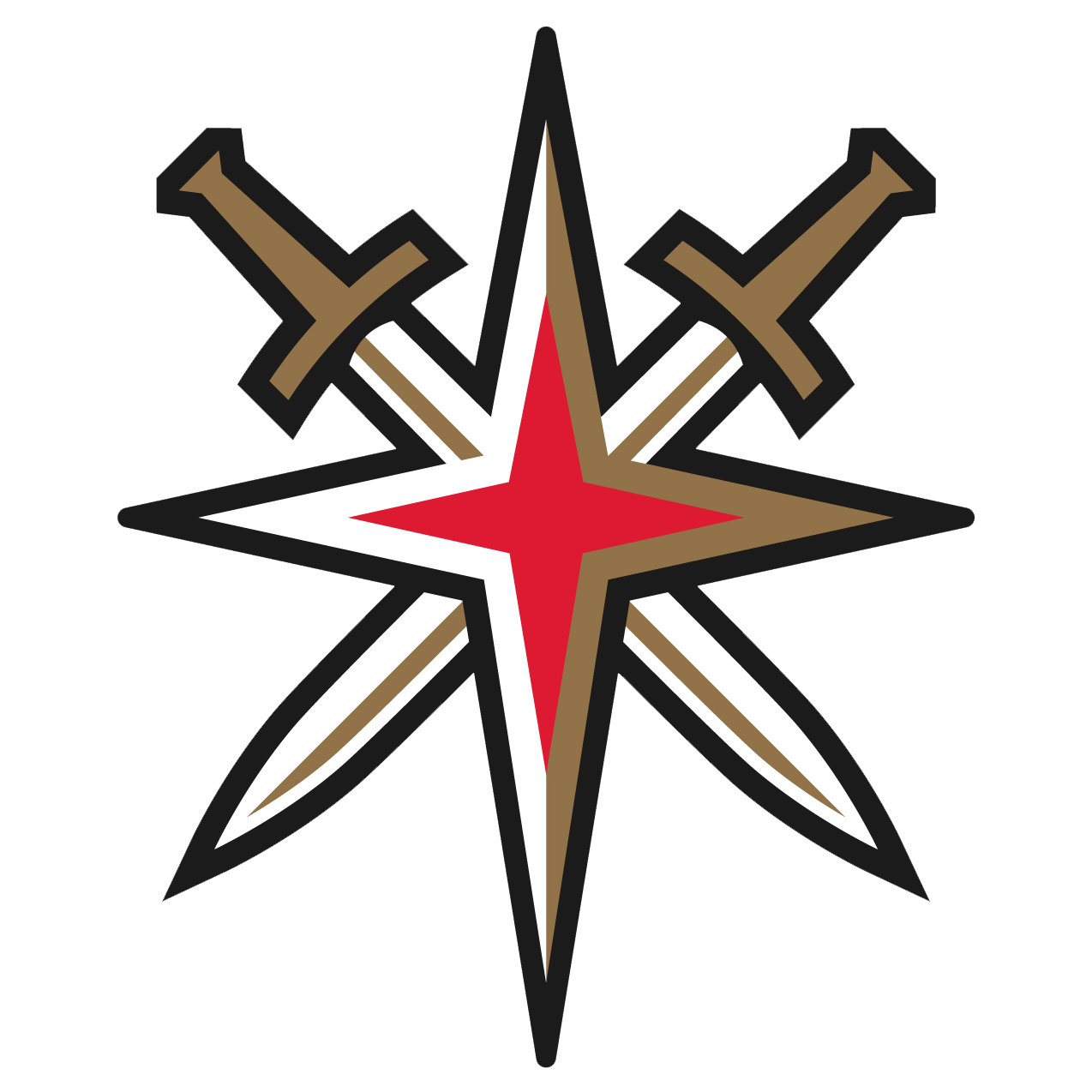 vegas golden knights nhl logo png