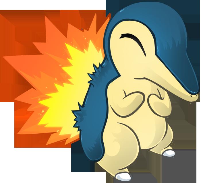 Картинки покемон синдаквил