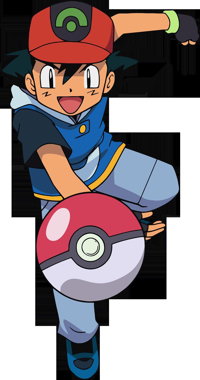 Ash Pokemon PNG File