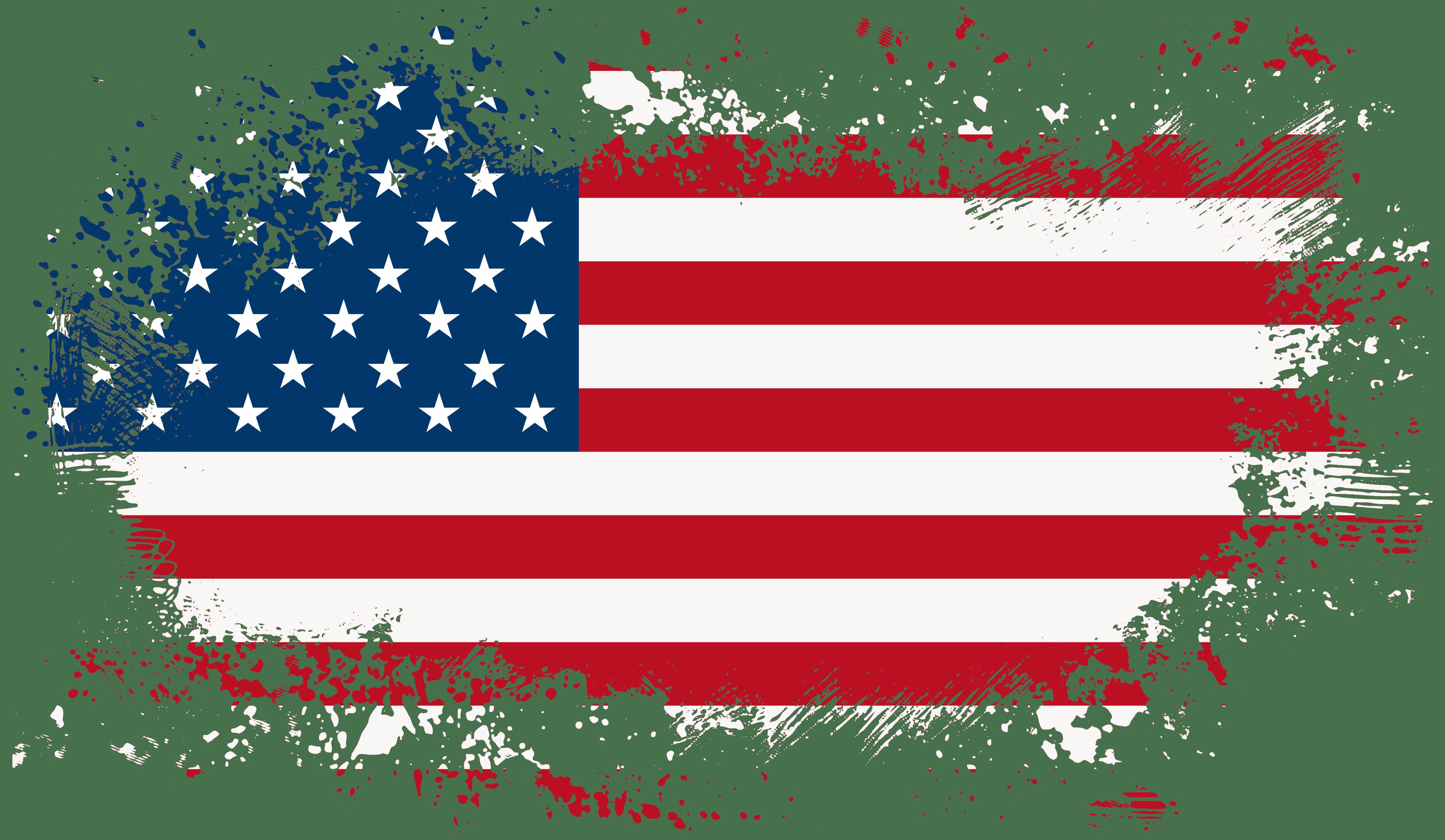 America Flag PNG Clip Art Image