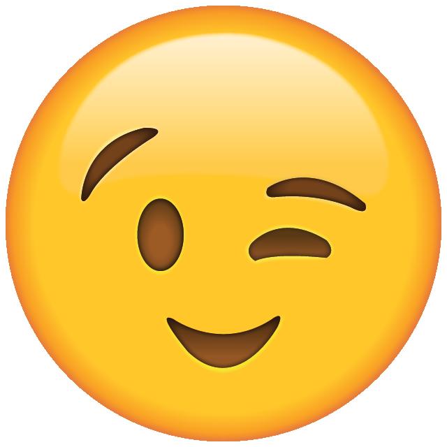 Wink Emoji Png
