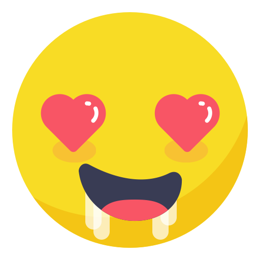 heart eyes emoji horny in love