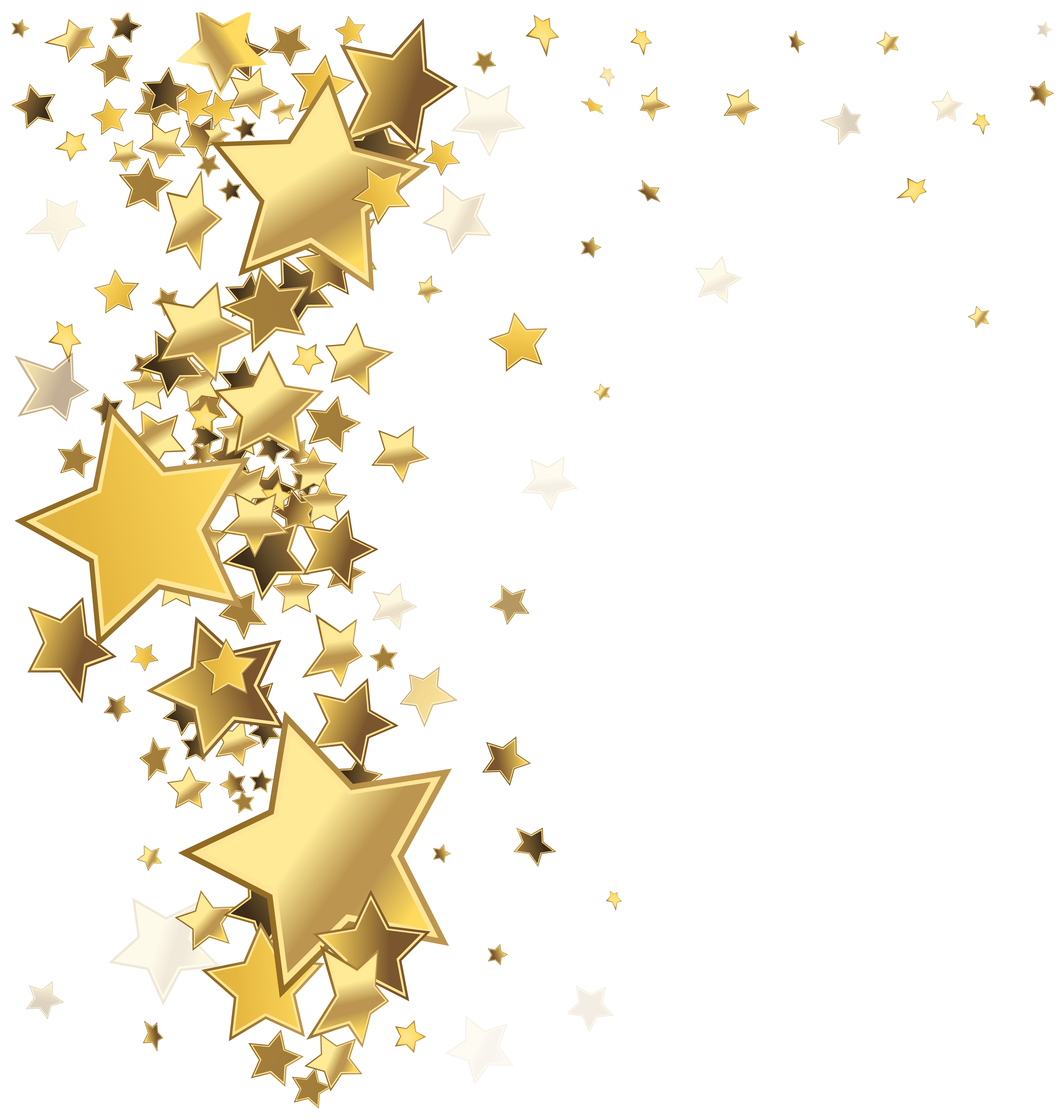 Stars Decoration PNG Clip Art Image
