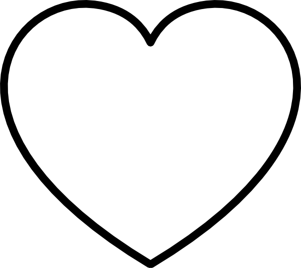 30+ Top For Heart Clipart Png Black And White