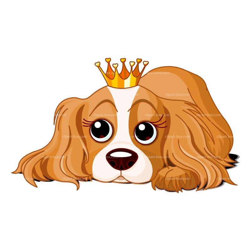 Queen Dog Clipart Cute