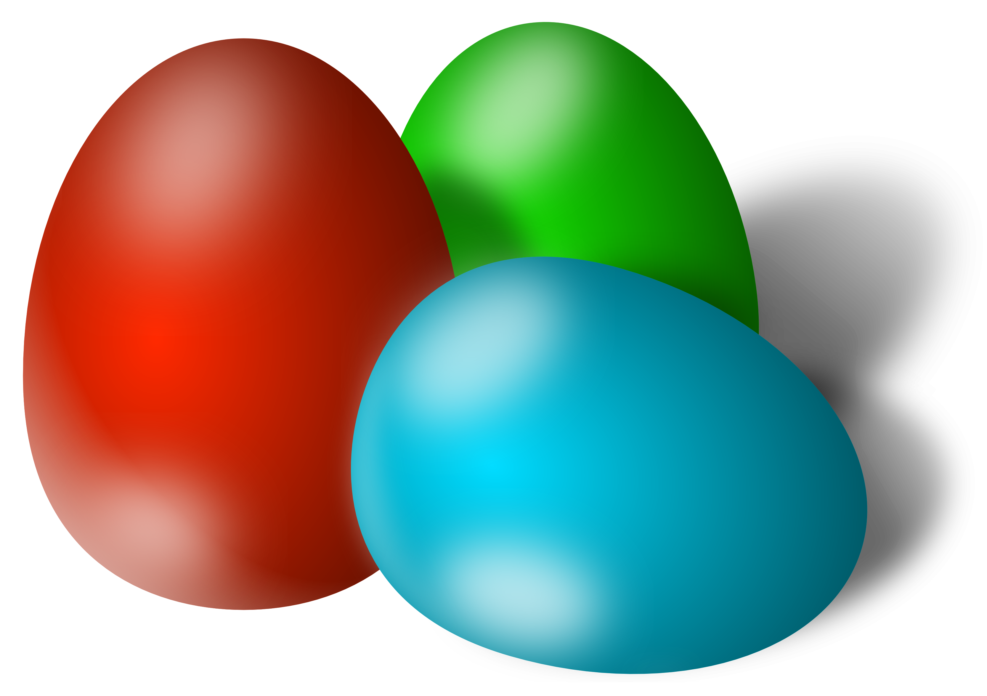 tree eggs easter png picture