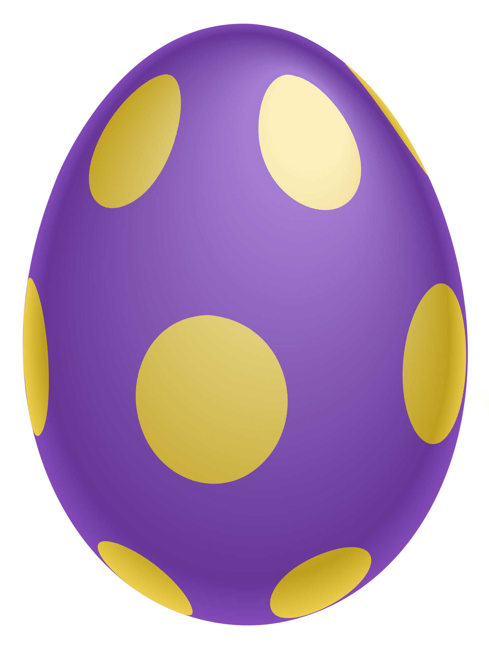 purple gold easter eggs png pic