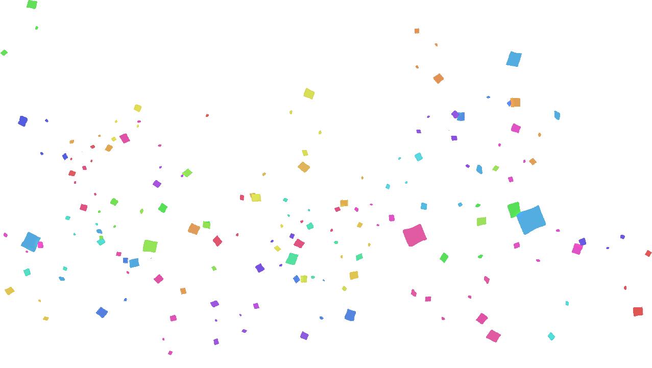 Confetti PNG Transparent