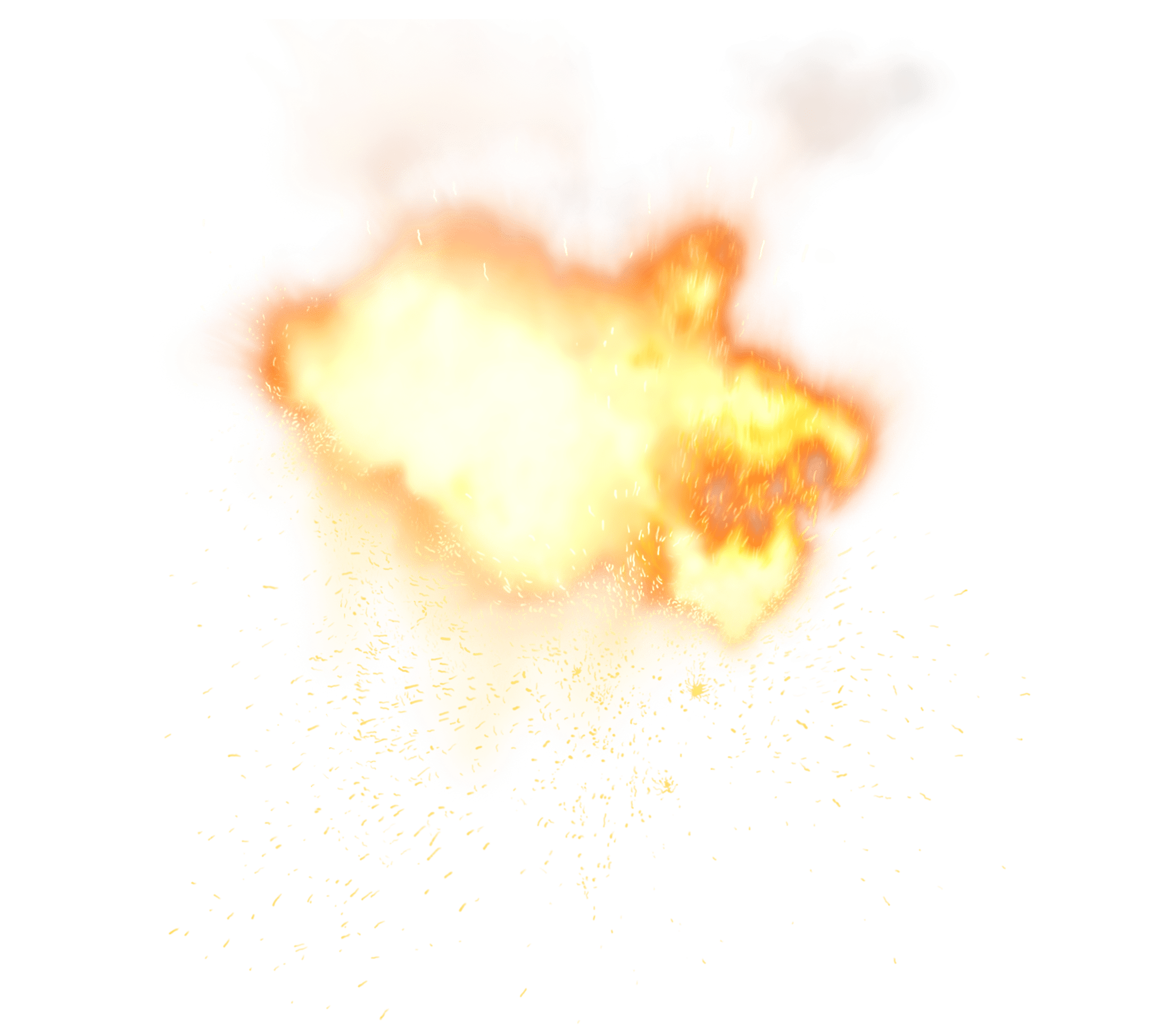 Fiery Explosion PNG Picture Clipart min