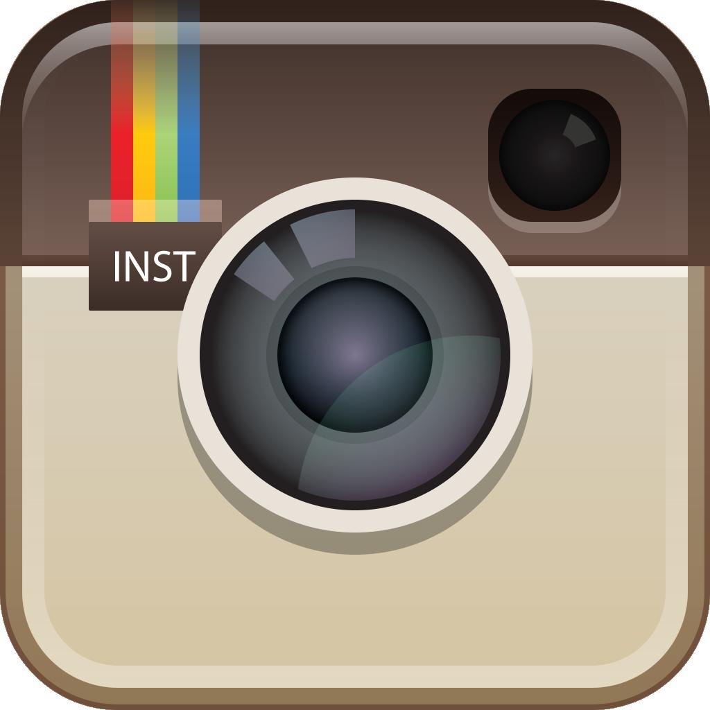 Instagram camera. Logo information