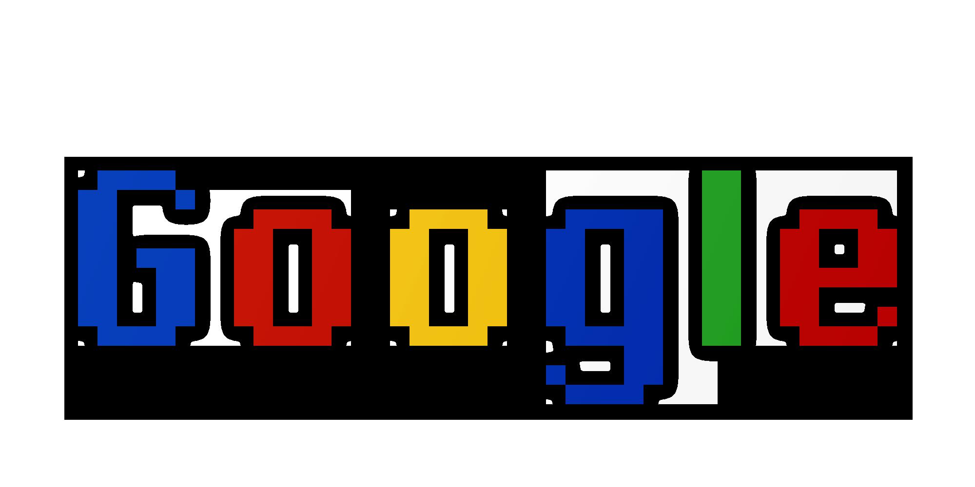 Pixel Google Logo Png