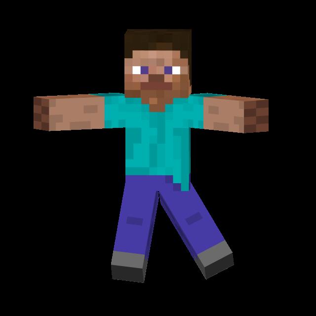 Minecraft Png Steve