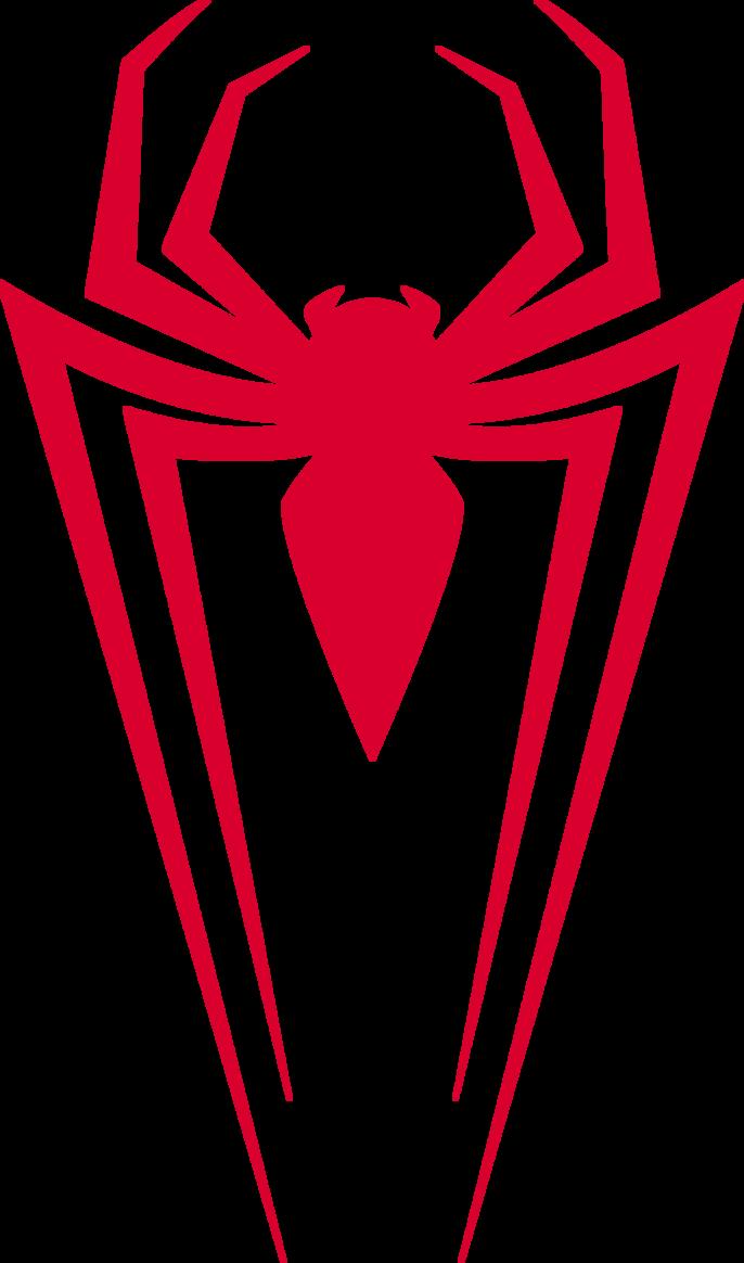 Spiderman Modern Symbol Logo Png