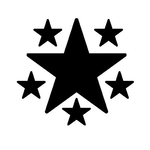 Black Star Png 18