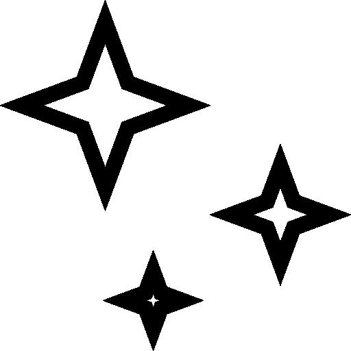 Black Star Png 16